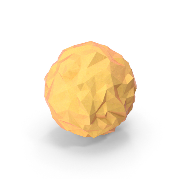Low Poly Sun PNG & PSD Images