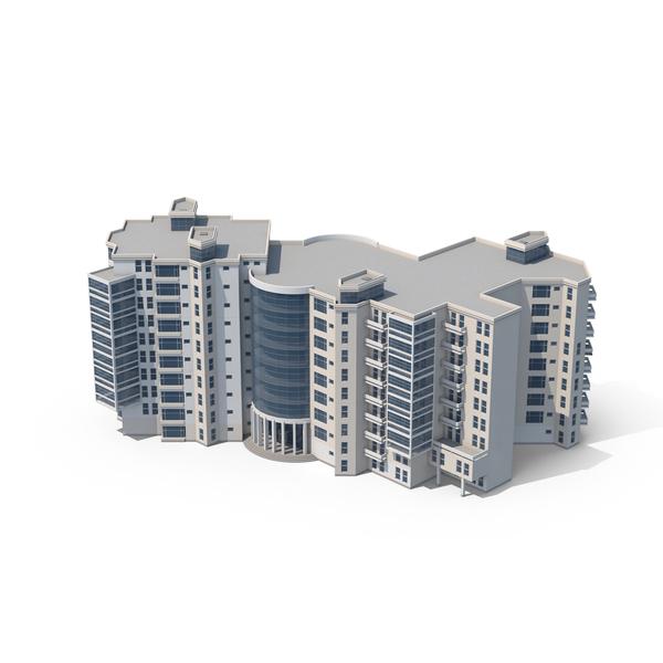 Low Rise Multi Purpose Building PNG & PSD Images