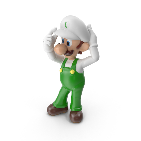 Game Character: Luigi PNG & PSD Images