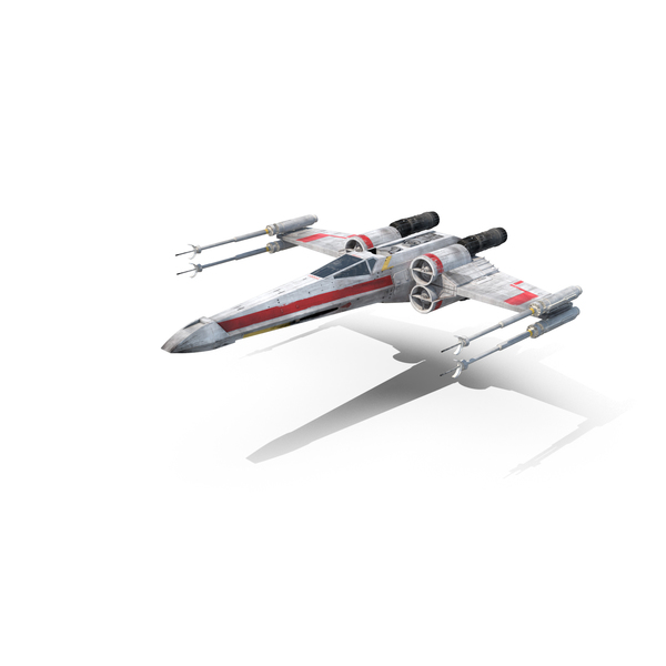 Luke's X-Wing Starfighter Object