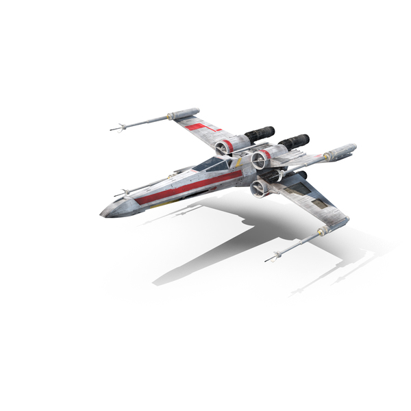 Space Fighter: Luke's X-Wing Starfighter PNG & PSD Images