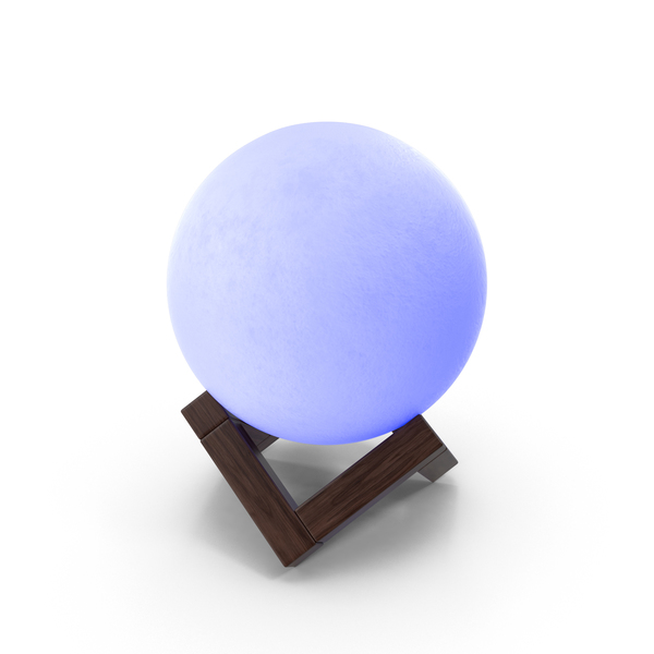 Luminous Decorative Ball Blue PNG & PSD Images