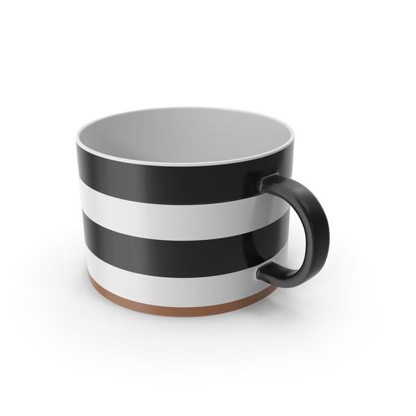 Luna Black and White Mug PNG & PSD Images