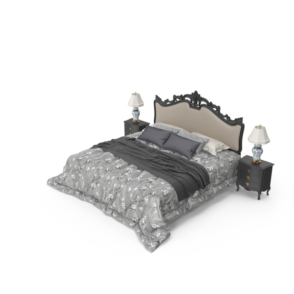 Luxury Bedroom Set PNG & PSD Images