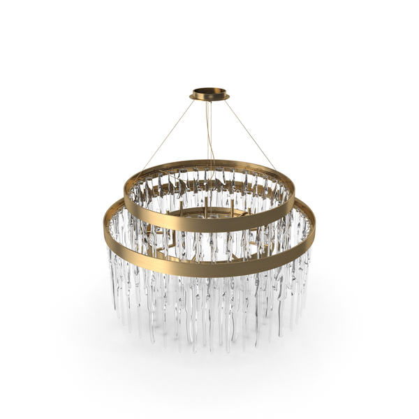 Crystal: Luxxu Babel Suspension Chandelier PNG & PSD Images