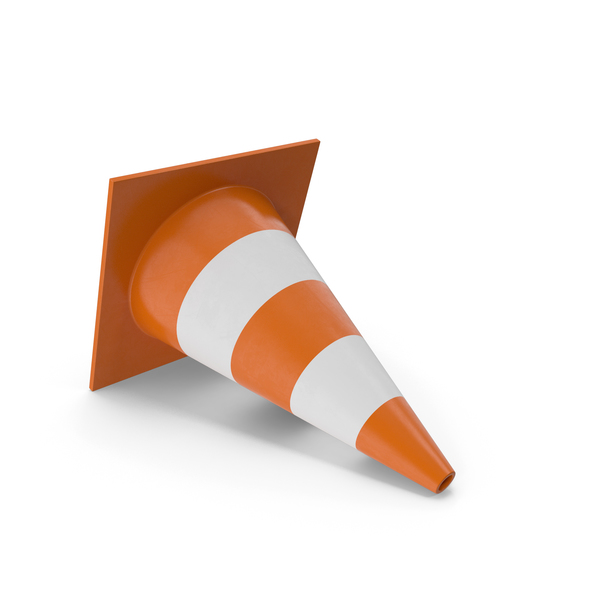 Lying Traffic Cone PNG & PSD Images