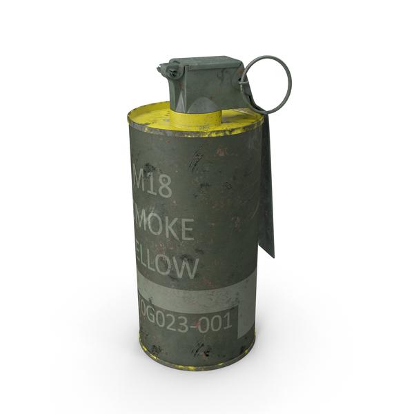 M18 Smoke Grenade PNG & PSD Images