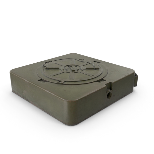 M19 Anti Tank Landmine Old PNG & PSD Images