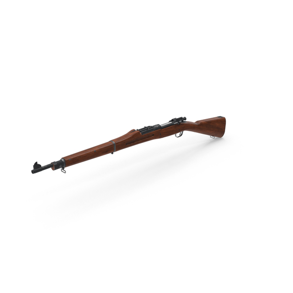 Rifle: M1903 Springfield PNG & PSD Images