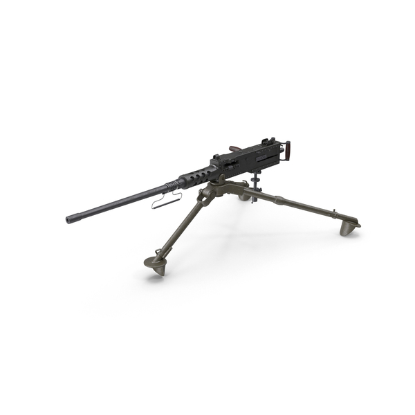 M2 Browning Machine Gun PNG & PSD Images