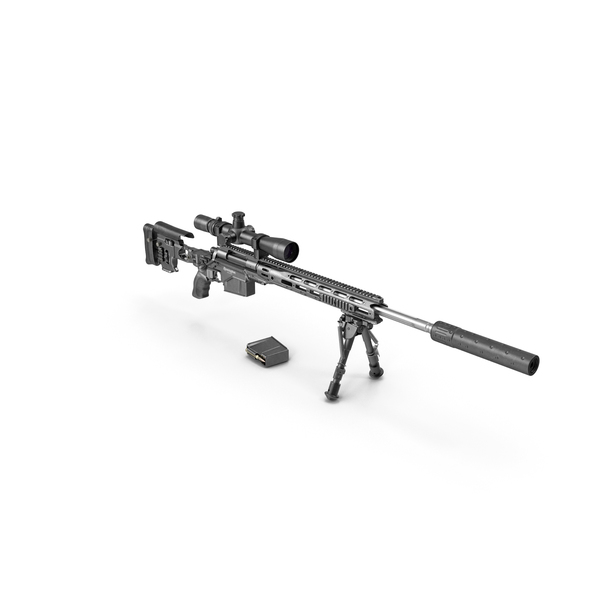M2010 Enhanced Sniper Rifle PNG & PSD Images