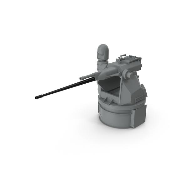 M242 Bushmaster Autocannon PNG & PSD Images