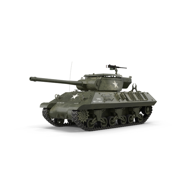 M36 Jackson Tank Destroyer PNG & PSD Images