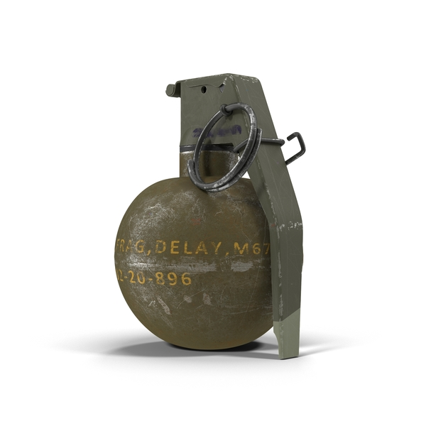 M67 Hand Grenade PNG & PSD Images