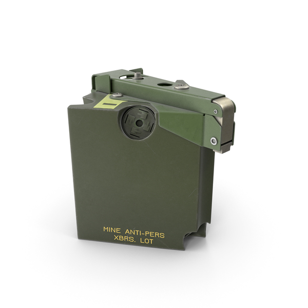 M86 Pursuit Deterrent Munition Land Mine PNG & PSD Images