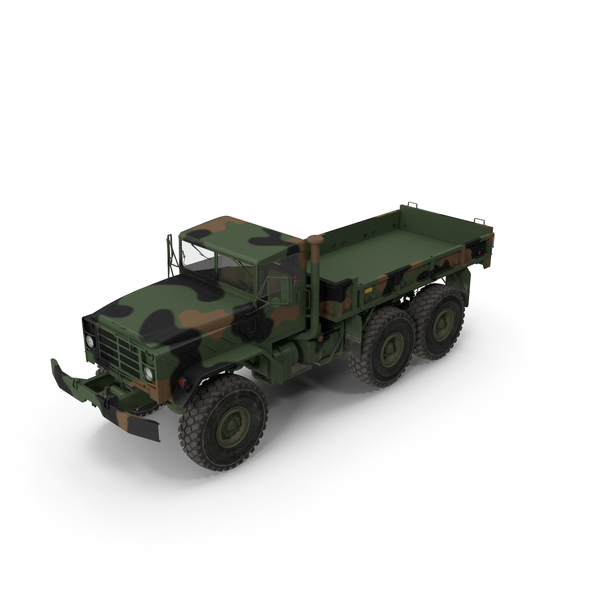 Medium Tactical Vehicle: M939 Military Cargo Truck Green PNG & PSD Images