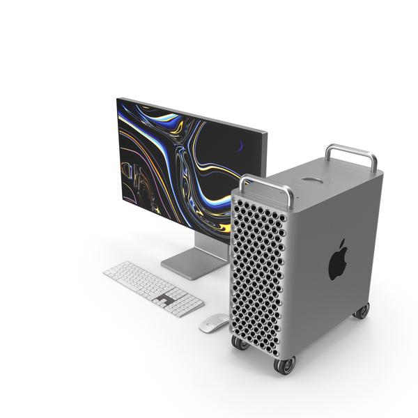 Mac Pro Wheels 2019 Set PNG & PSD Images