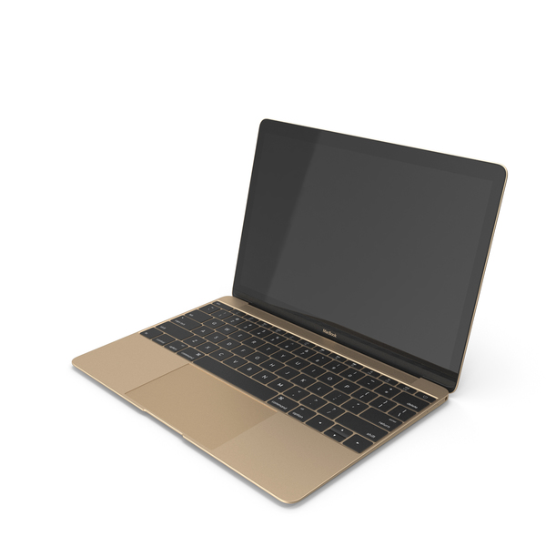 MacBook Gold-OFF PNG & PSD Images