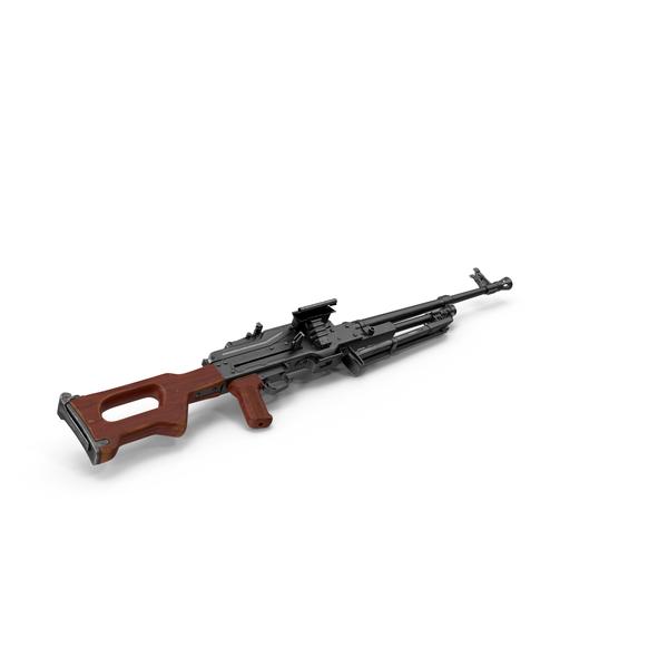 Machine Gun PKM PNG & PSD Images