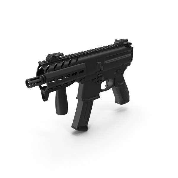 Machine Pistol Object