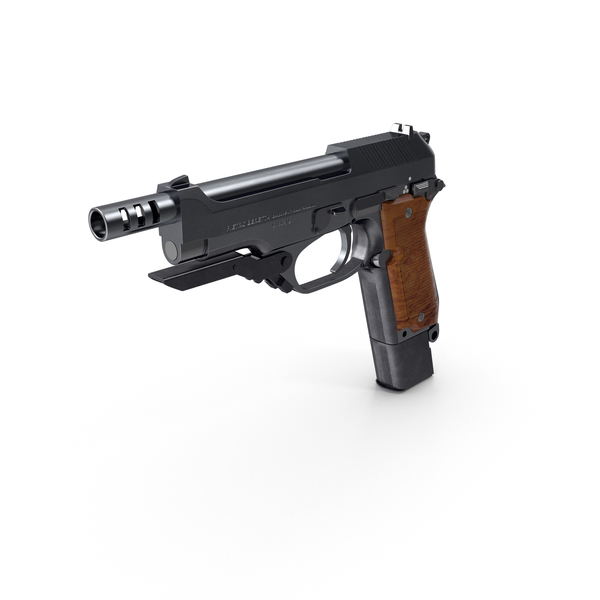 Machine Pistol Beretta 93R Object