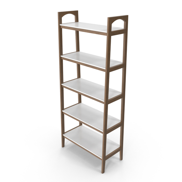 Madison Park Parker Ladder Bookcase PNG & PSD Images