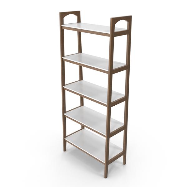 Madison Park Parker Ladder Bookcase PNG & PSD Images