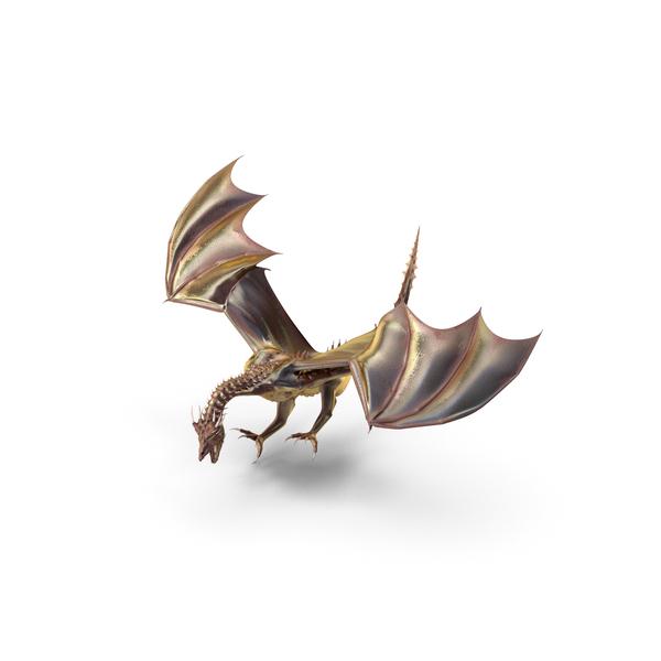 Magical Dragon Landing PNG & PSD Images