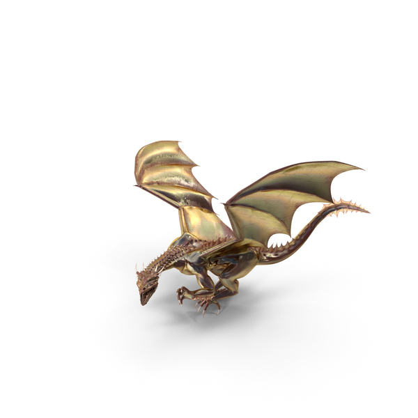 Magical Dragon Lurking PNG & PSD Images