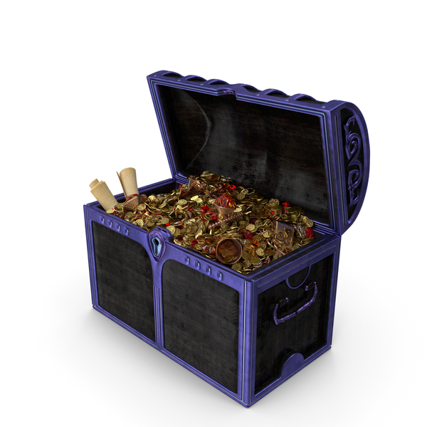 Magical Treasure Chest PNG & PSD Images
