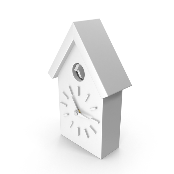 Magis Cu-Clock White PNG & PSD Images