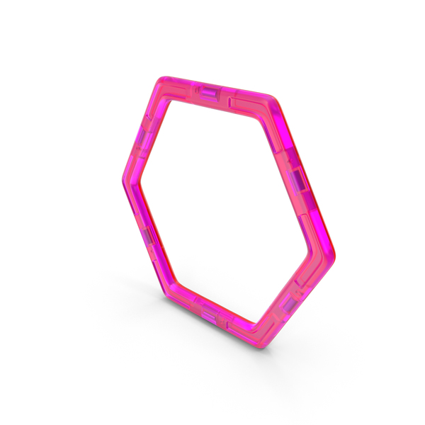 Building Block: Magnetic Designer Hexagon PNG & PSD Images