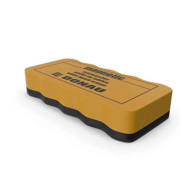 Magnetic Whiteboard Eraser PNG & PSD Images