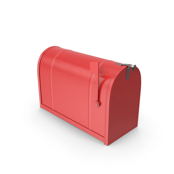 Mailbox Closed Red PNG & PSD Images