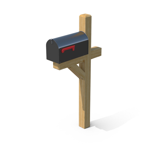 Mailbox On Post PNG & PSD Images