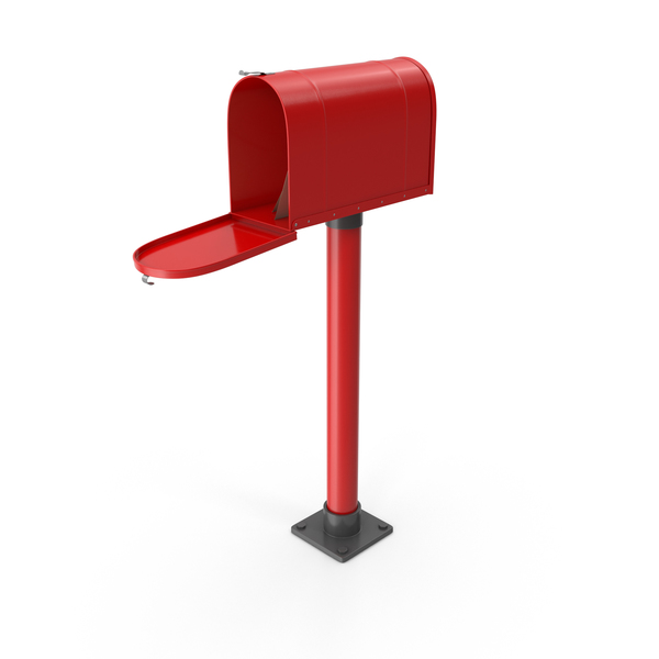 Mailbox On Post Opened PNG & PSD Images