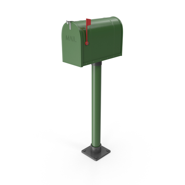 Us: Mailbox on Post PNG & PSD Images