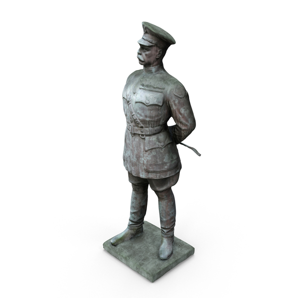 Major General Bandholtz Statue PNG & PSD Images