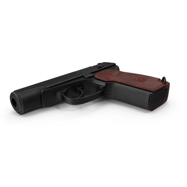 Handgun: Makarov PM Pistol PNG & PSD Images