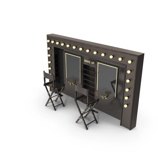 Vanity: make up desk 1 PNG & PSD Images