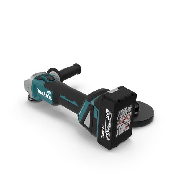 Makita XAG03M Angle Grinder Kit PNG & PSD Images