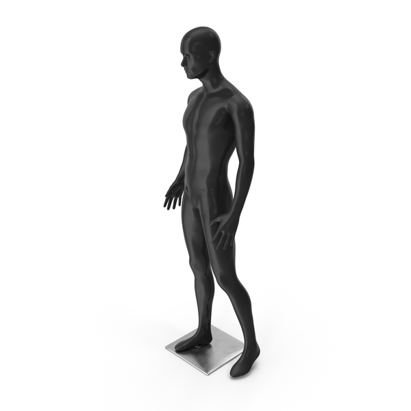Male Mannequin Black PNG & PSD Images