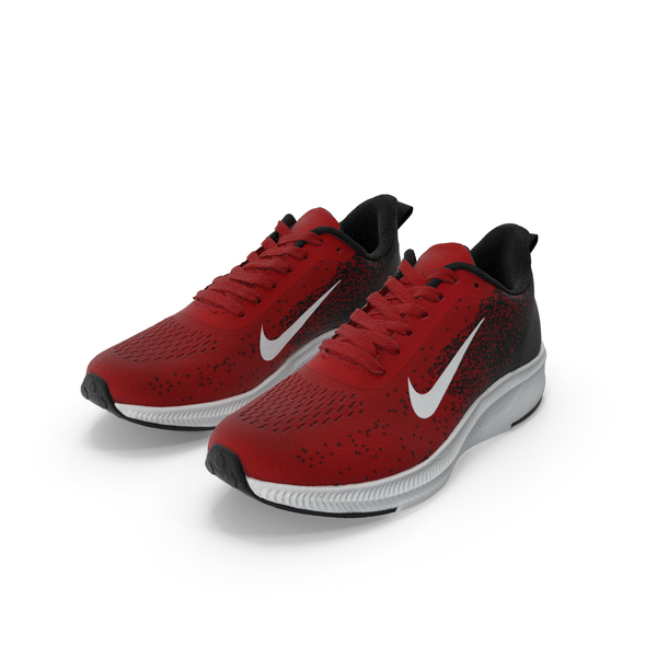 Male Nike Sneakers Pair PNG & PSD Images