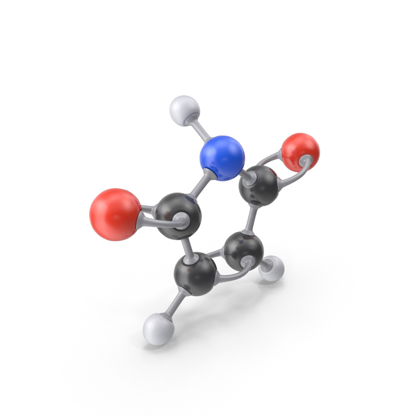 Maleimide Molecule PNG & PSD Images