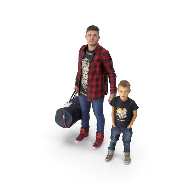 Man and a kid PNG & PSD Images
