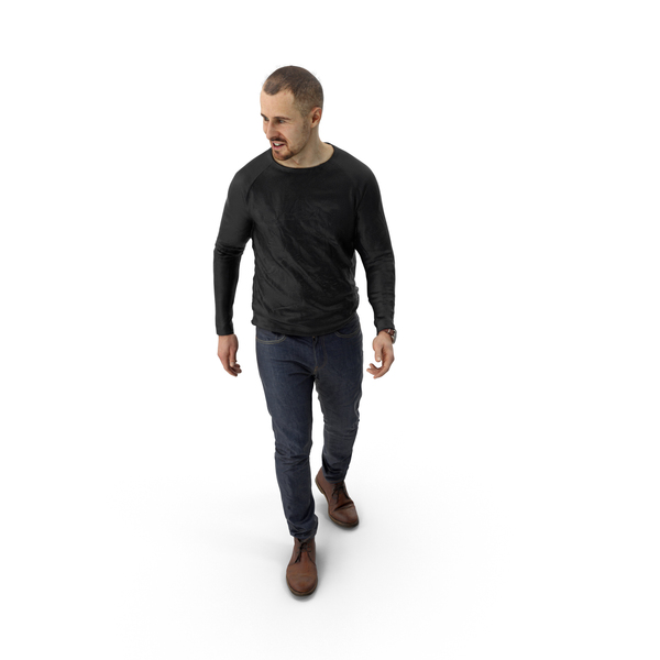 Man Casual Mark PNG & PSD Images