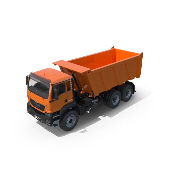 Man Dump Truck PNG & PSD Images