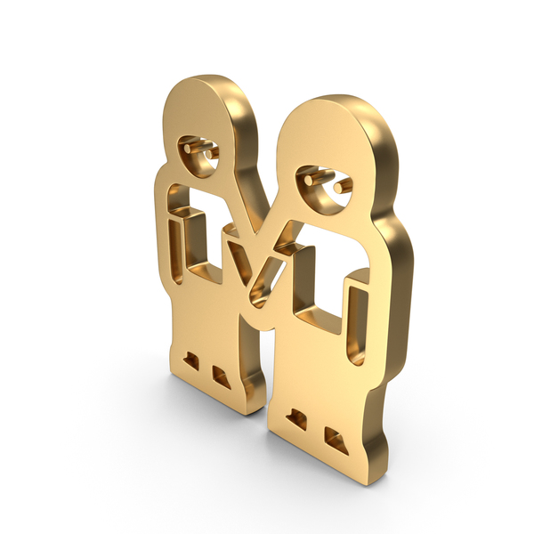 Man Holding Hands Logo Icon PNG & PSD Images
