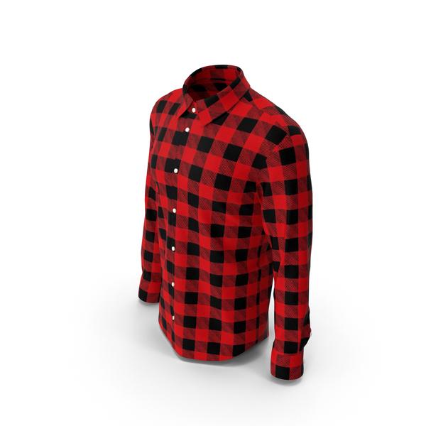 Man Plaid Shirt PNG & PSD Images