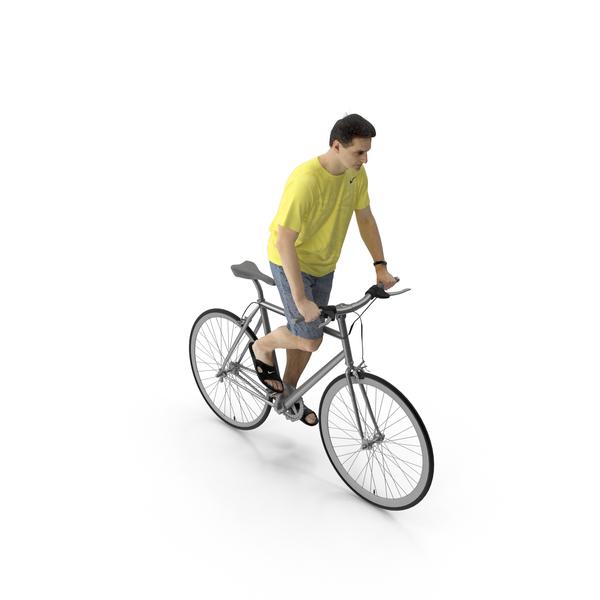 Man Riding Bike Radim PNG & PSD Images